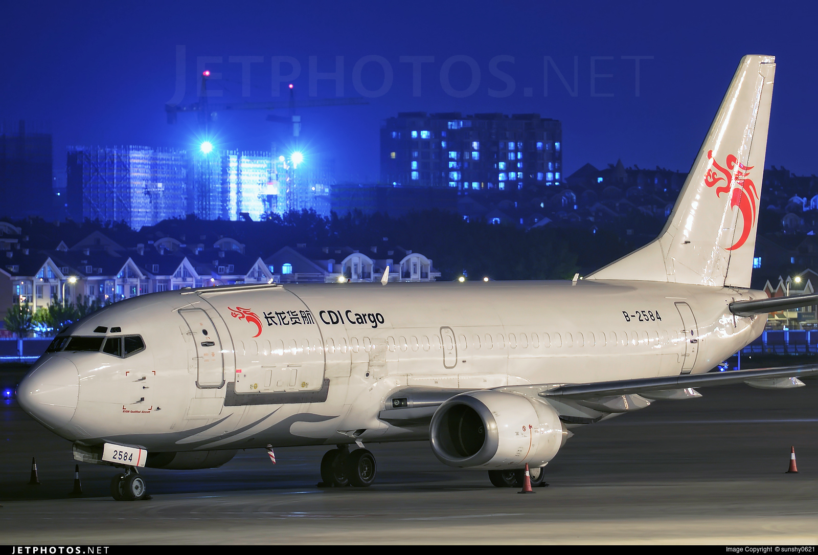 B-2584 - Boeing 737-3J6(SF) - CDI Cargo Airlines