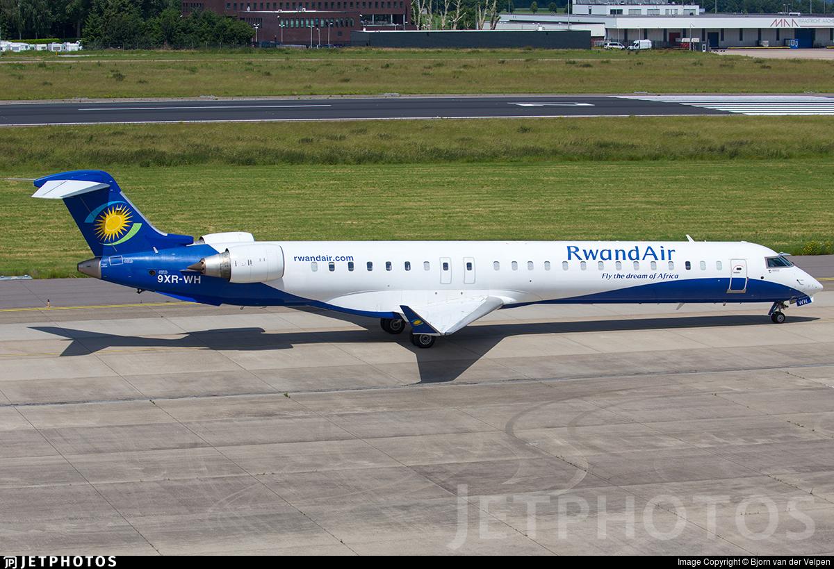 9XR-WH - Bombardier CRJ-900ER - RwandAir