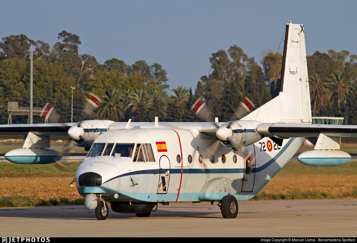 TR.12D-77 - CASA C-212-200 Aviocar - Spain - Air Force