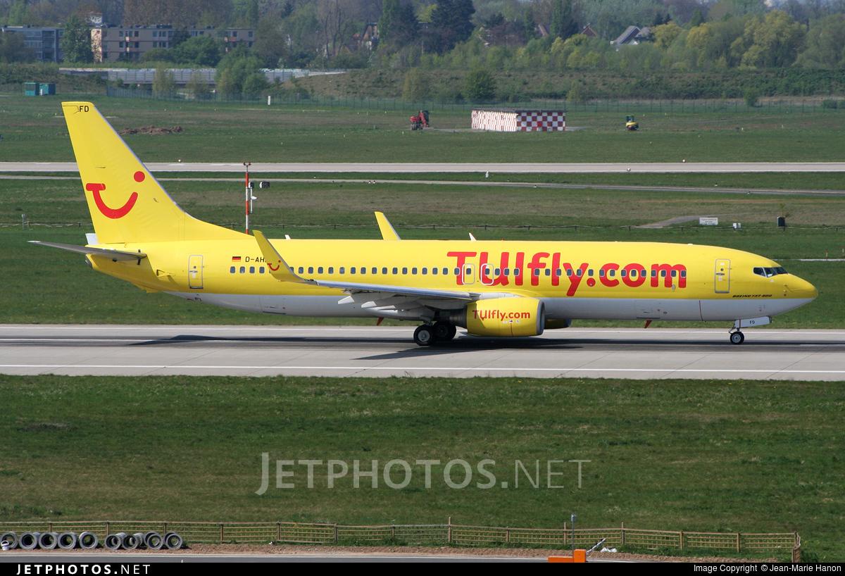 D-AHFD - Boeing 737-8K5 - TUIfly