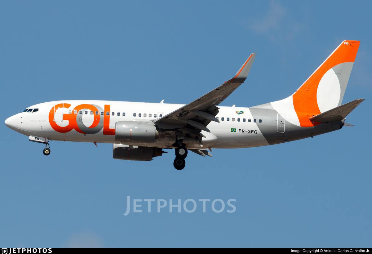 PR-GEQ - Boeing 737-7K5 - GOL Linhas Aéreas