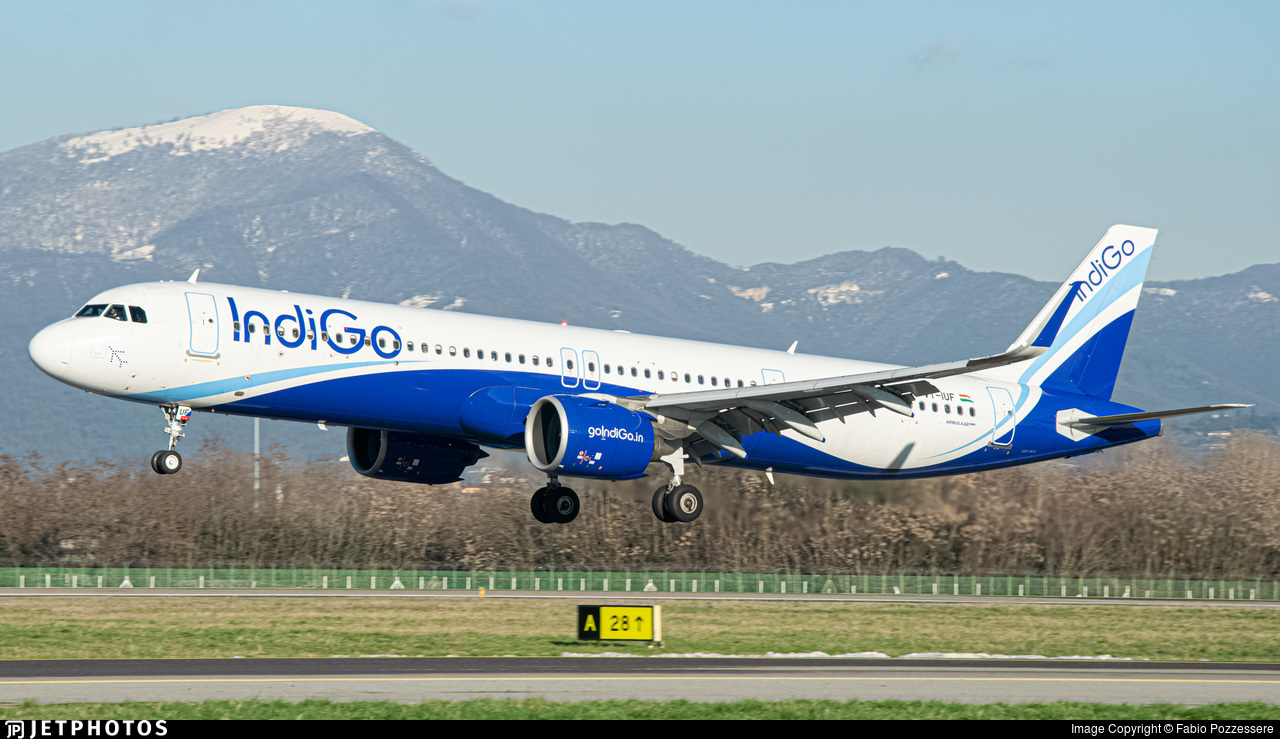 VT-IUF - Airbus A321-271NX - IndiGo Airlines