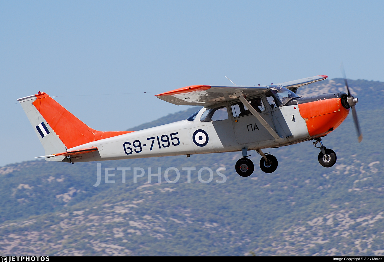 69-7195 - Cessna T-41D Mescalero - Greece - Air Force