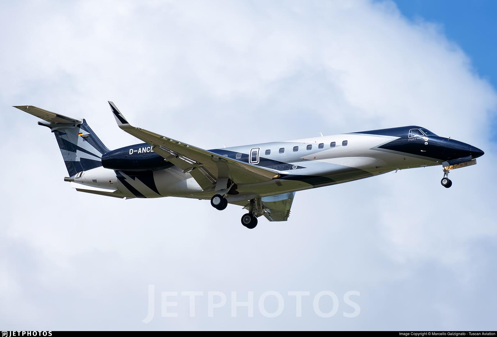 D-ANCE - Embraer ERJ-135BJ Legacy 650E - Air Hamburg
