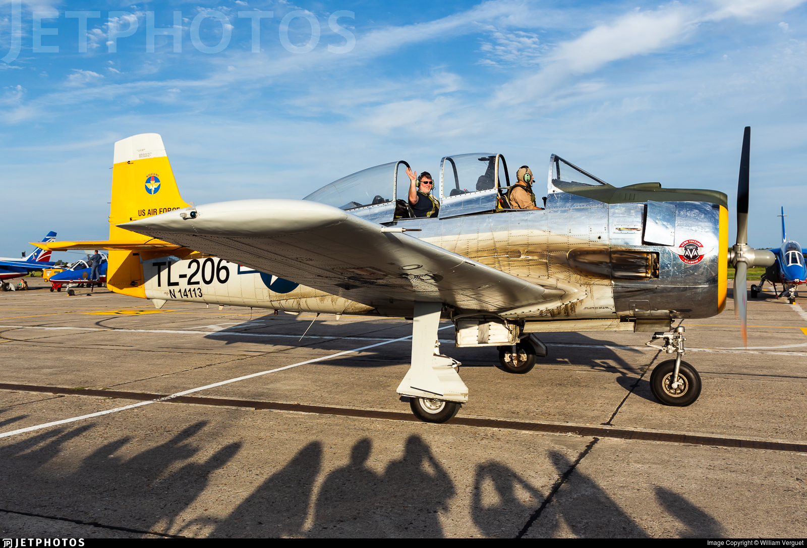 N14113 - North American T-28S Fennec - Private