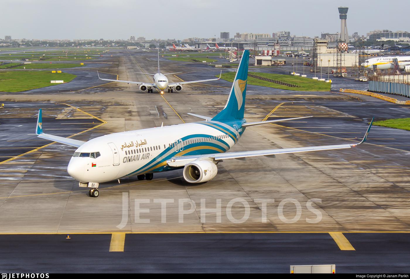 A4O-BX - Boeing 737-81M - Oman Air