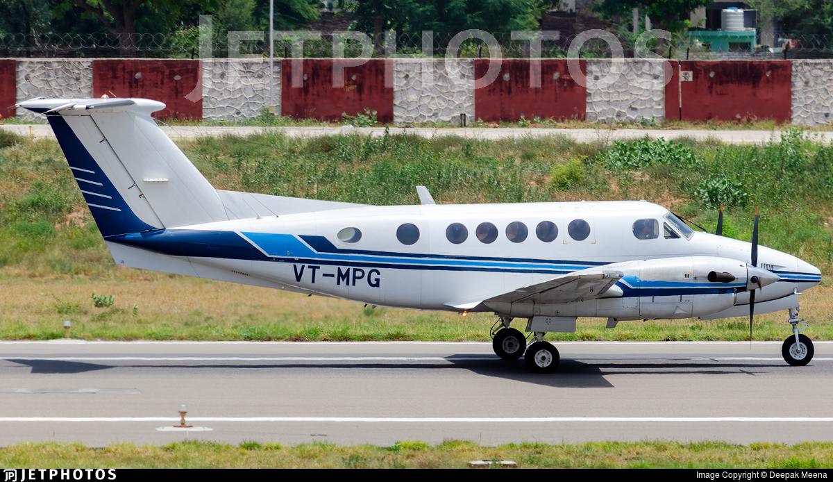 VT-MPG - Beechcraft B200 Super King Air - Private