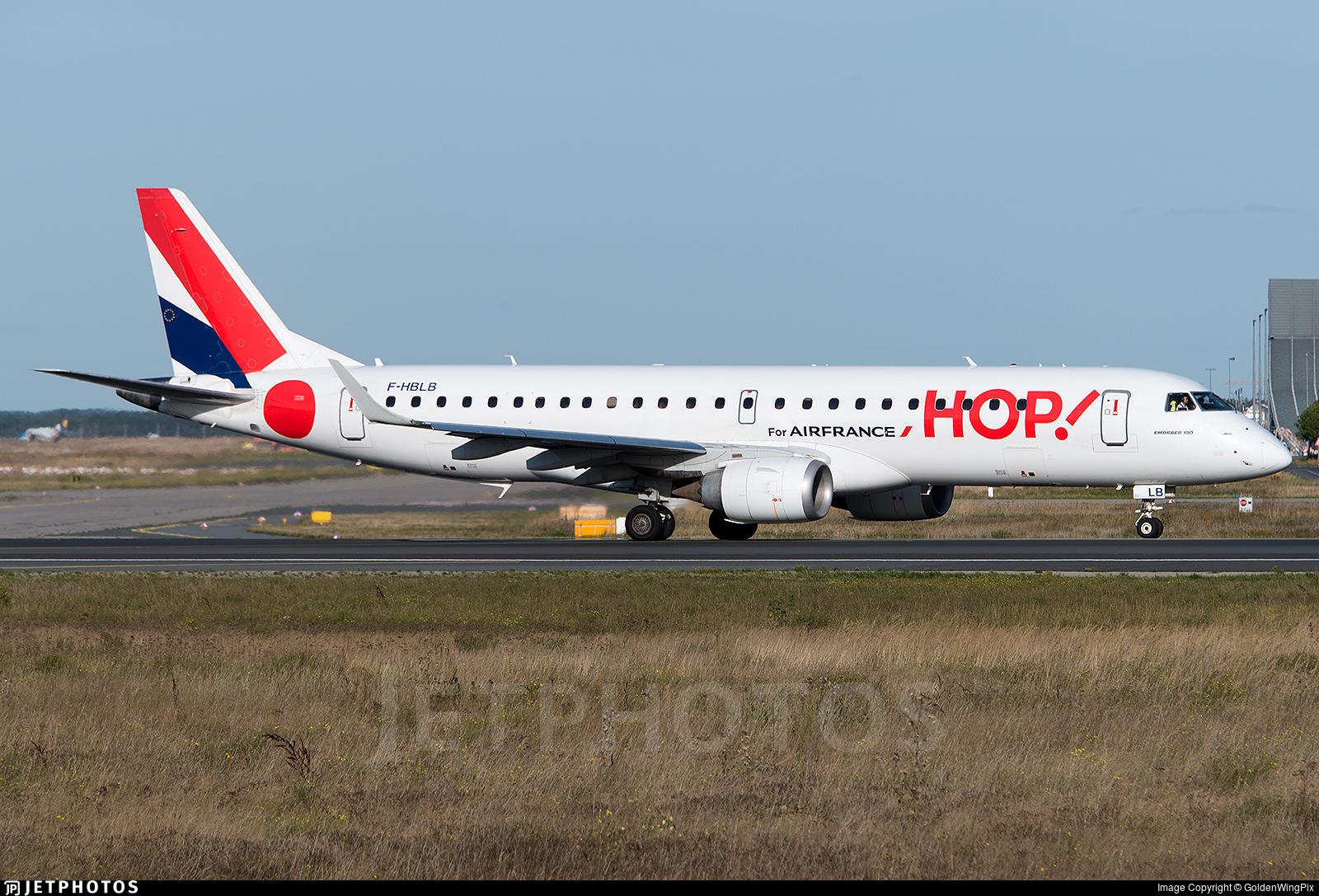 F-HBLB - Embraer 190-100LR - HOP! for Air France