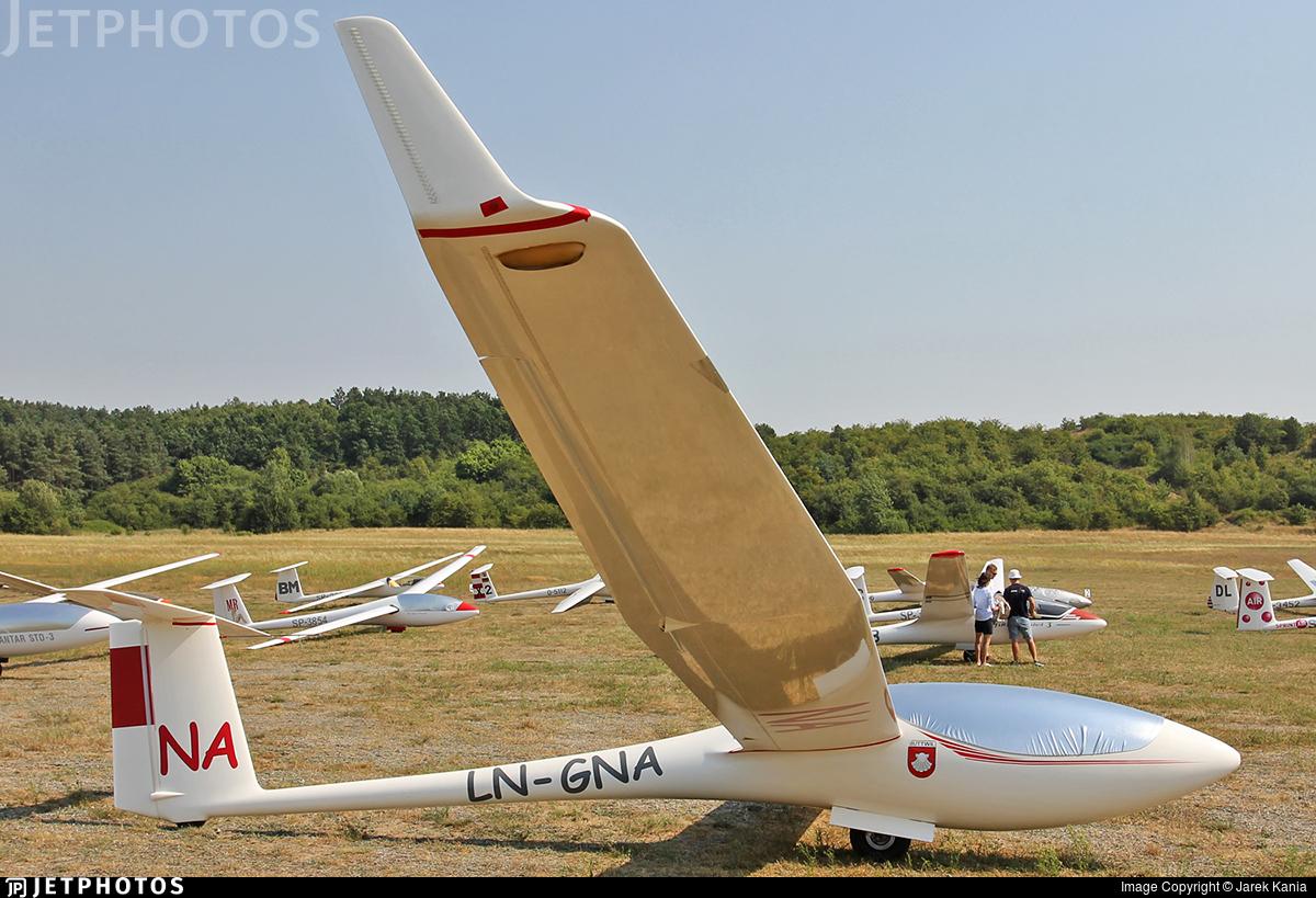 LN-GNA - Schleicher ASW-24 - Private