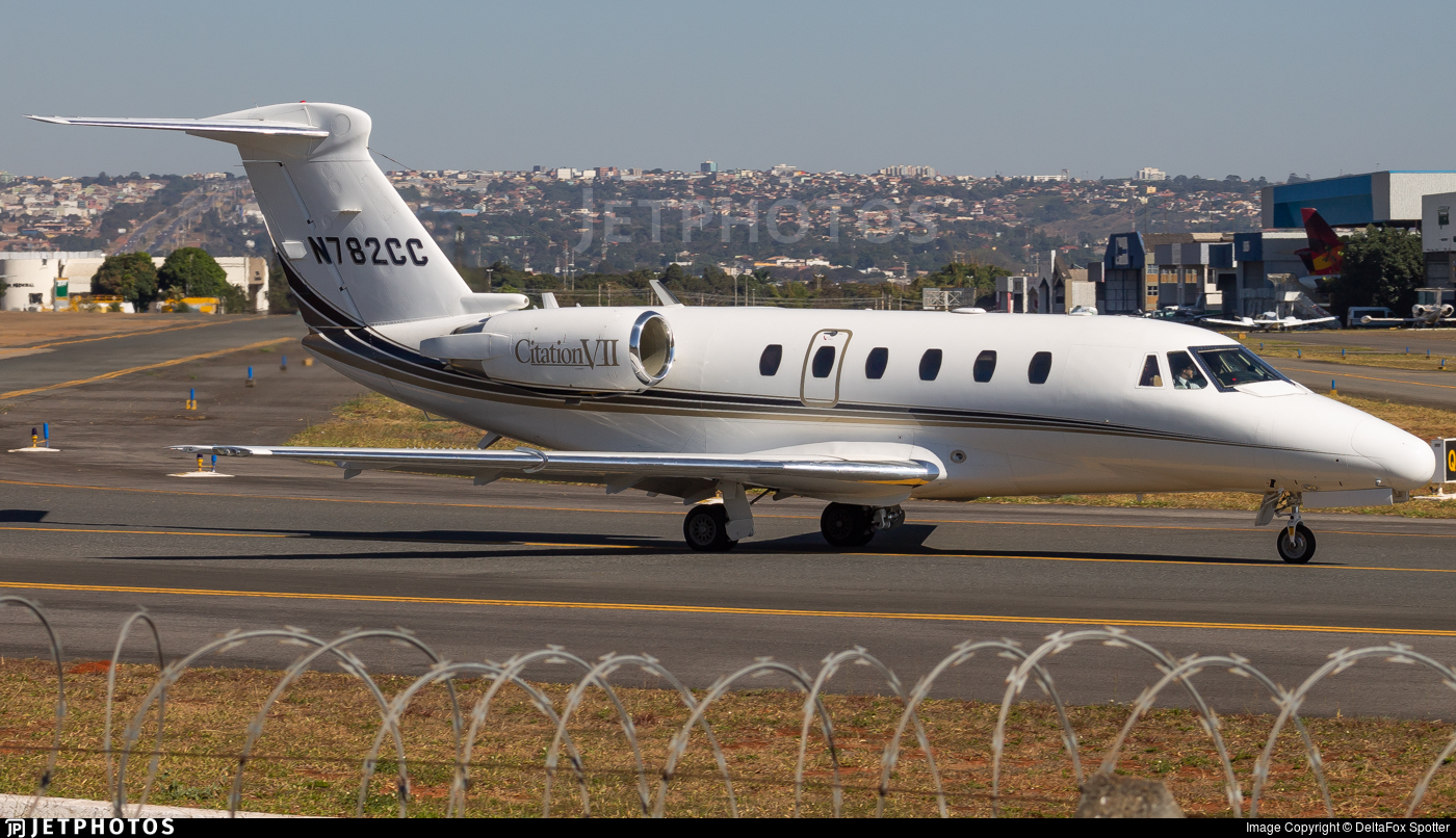 N782CC - Cessna 650 Citation VII - Private