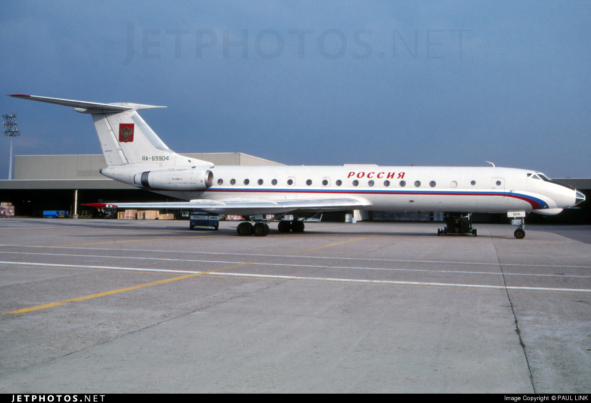RA-65904 - Tupolev Tu-134 - Russia - State Transport Company