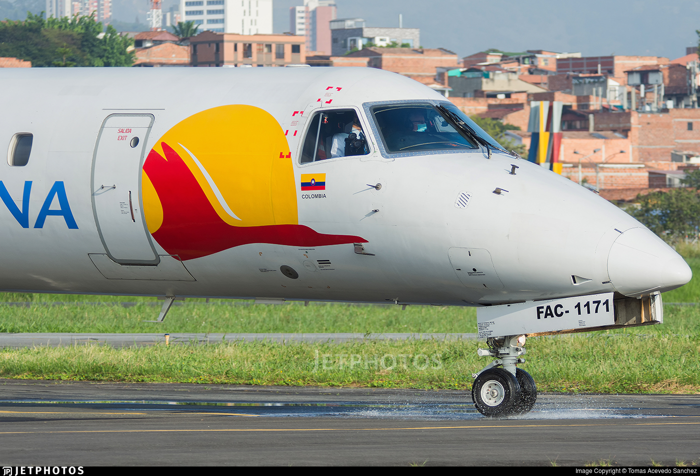 HK-4525 - Embraer ERJ-145LR - Satena