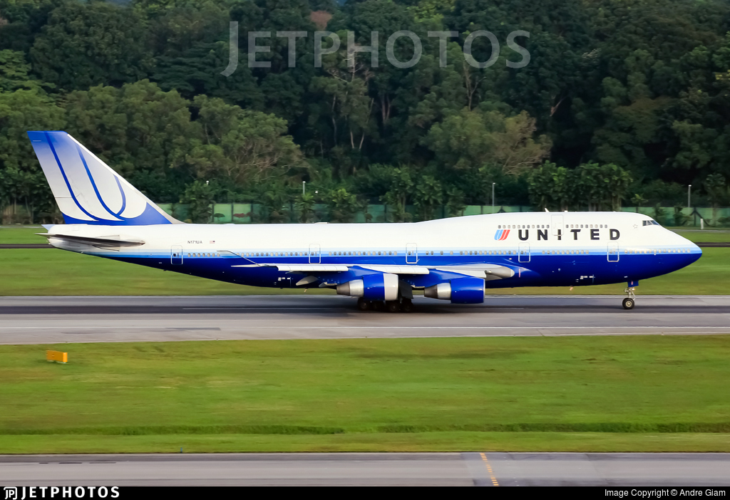 N171UA - Boeing 747-422 - United Airlines