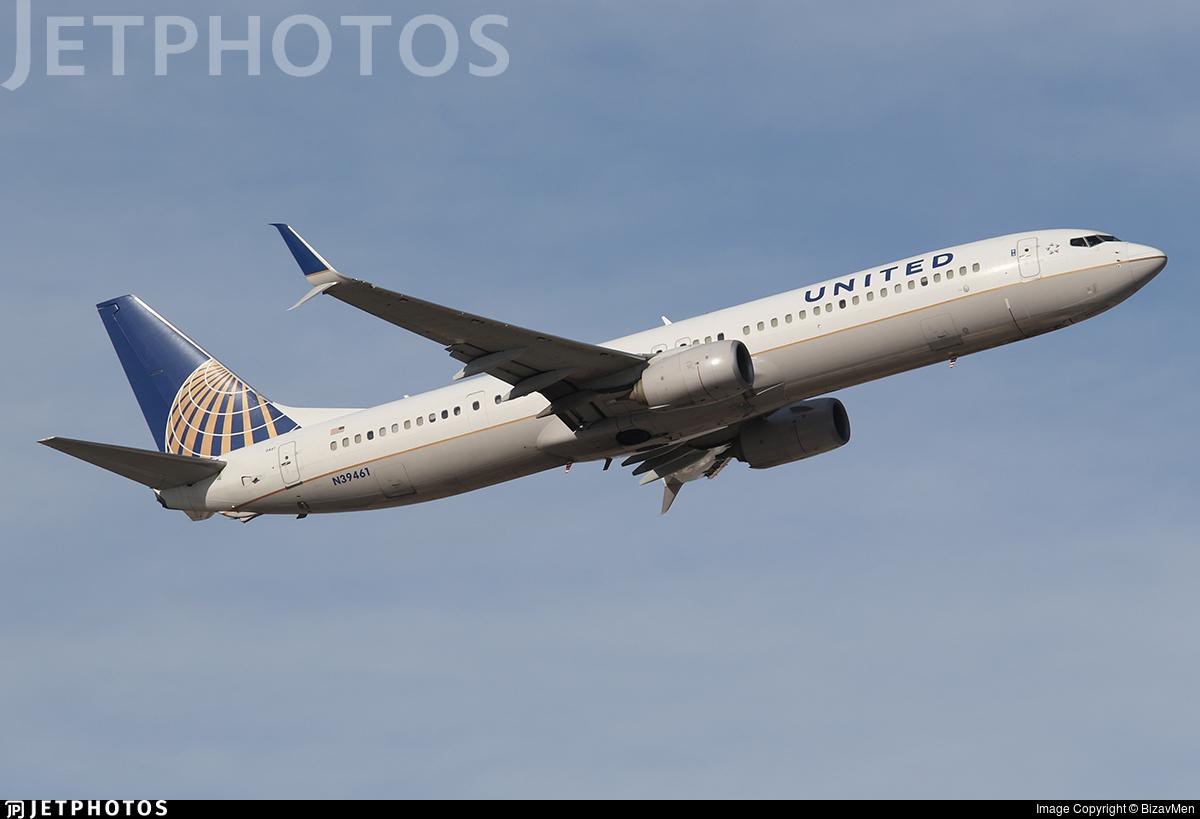 N39461 - Boeing 737-924ER - United Airlines