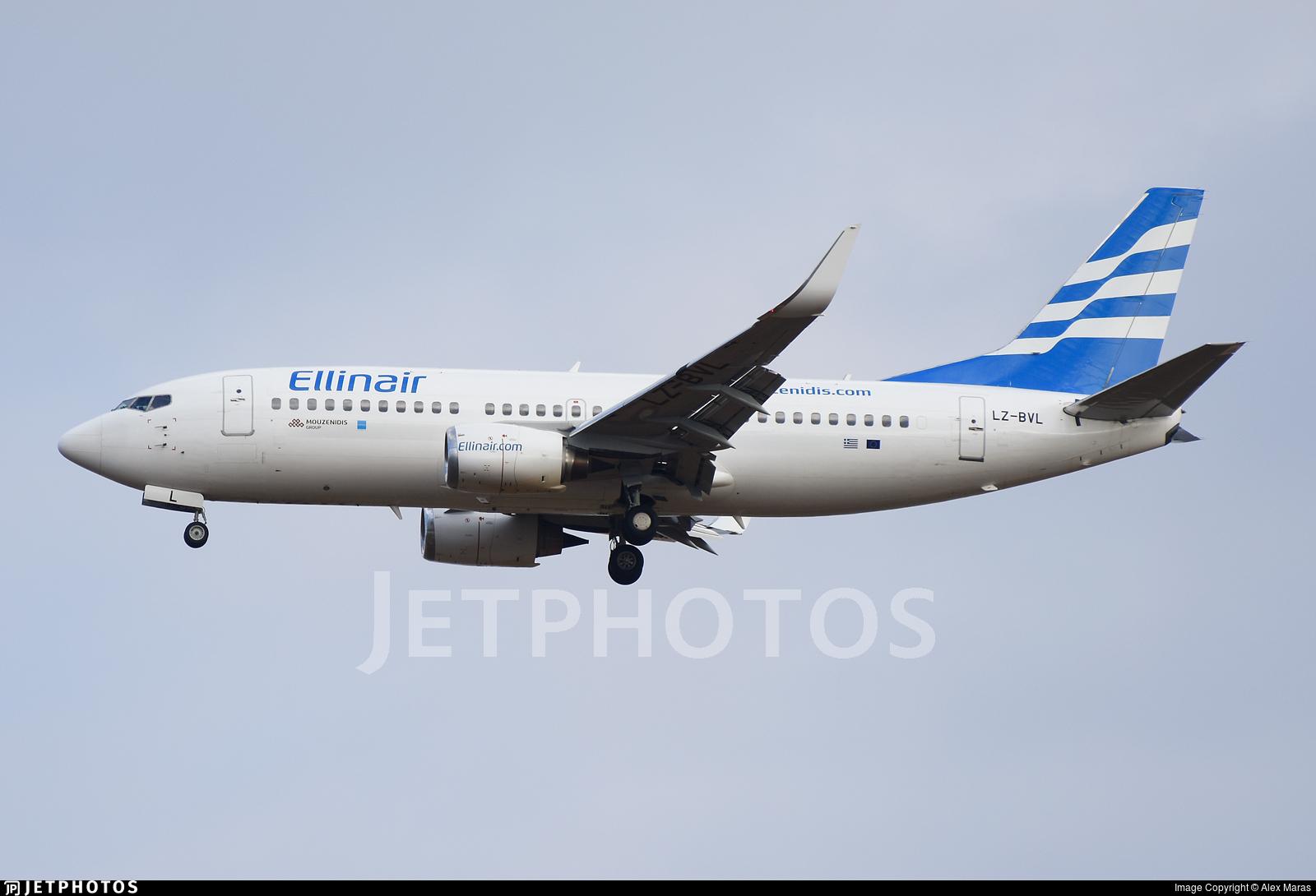 LZ-BVL - Boeing 737-33S - Ellinair