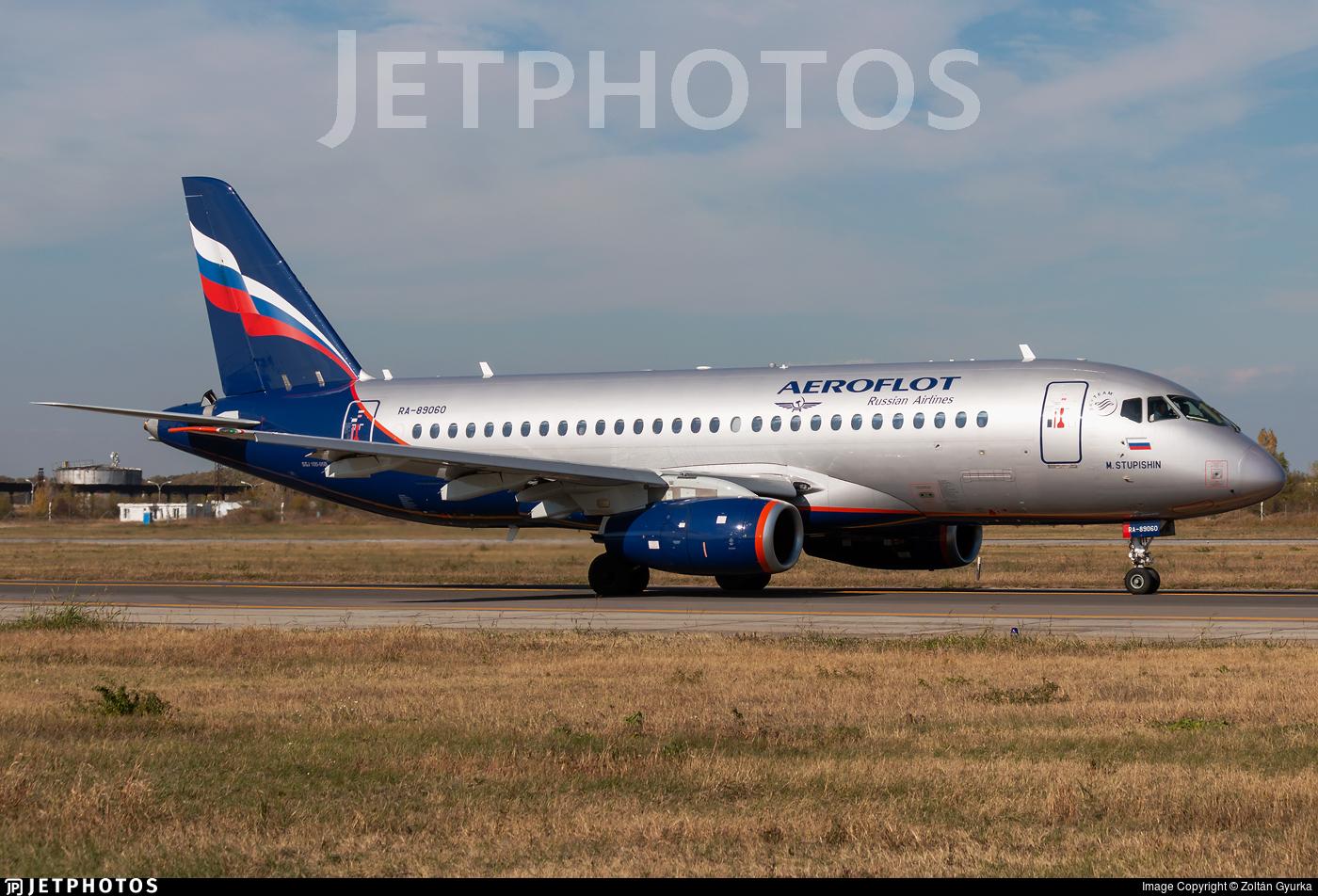 RA-89060 - Sukhoi Superjet 100-95B - Aeroflot