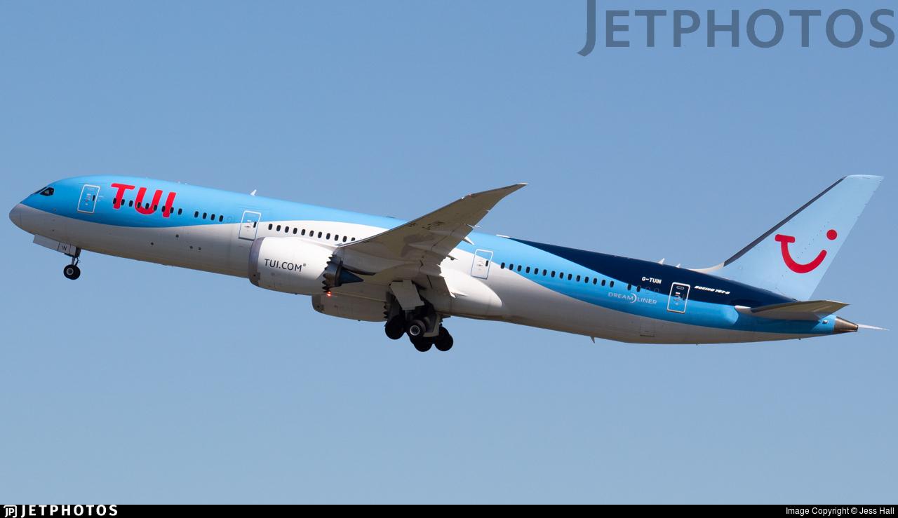 G-TUIN - Boeing 787-9 Dreamliner - TUI