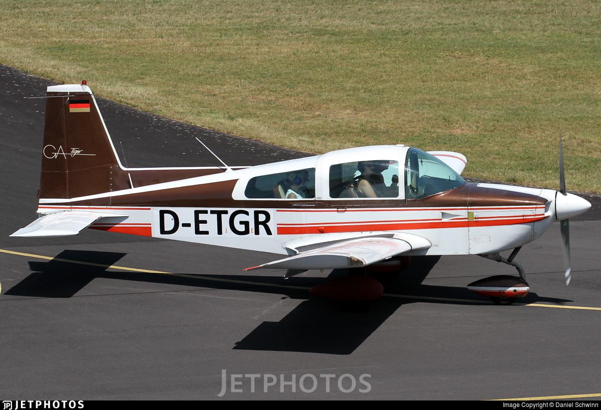 D-ETGR - Grumman American AA-5B Tiger - Private