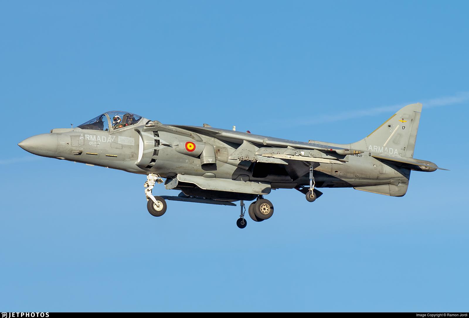 VA.1B-27 - McDonnell Douglas AV-8B+ Harrier II - Spain - Navy