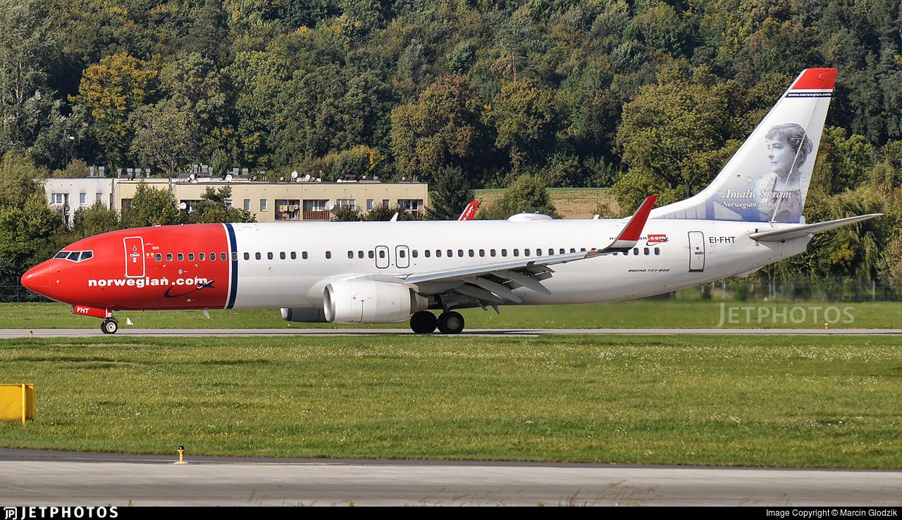 EI-FHT - Boeing 737-8JP - Norwegian