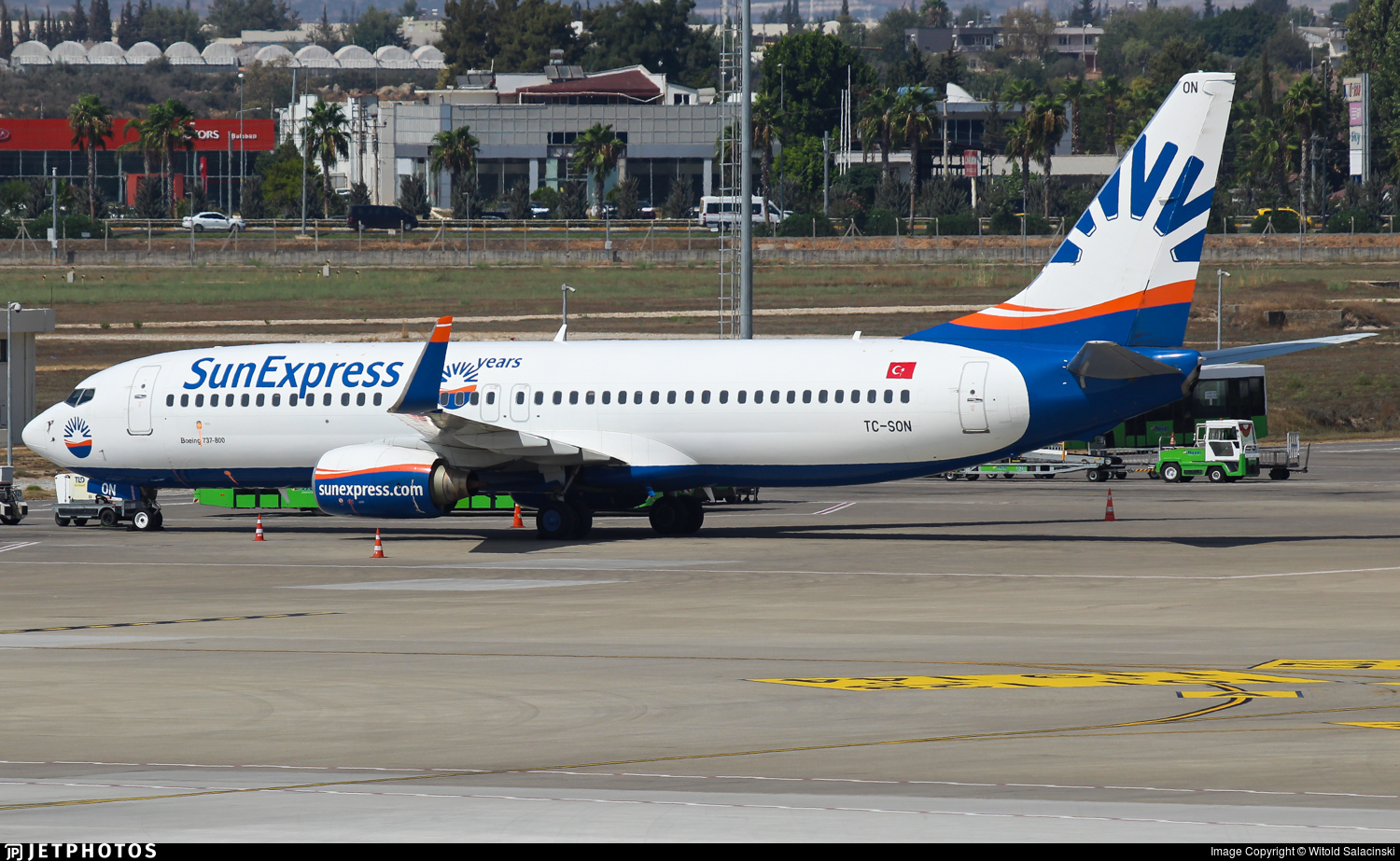 TC-SON - Boeing 737-86J - SunExpress