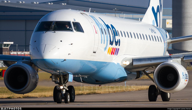G-FBJI - Embraer 170-200STD - Flybe