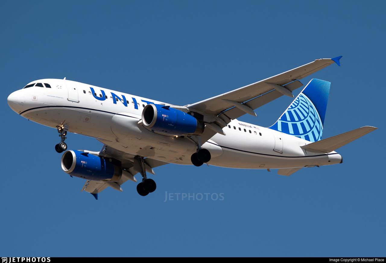 N881UA - Airbus A319-132 - United Airlines