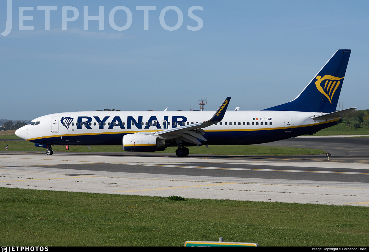 EI-EGB - Boeing 737-8AS - Ryanair