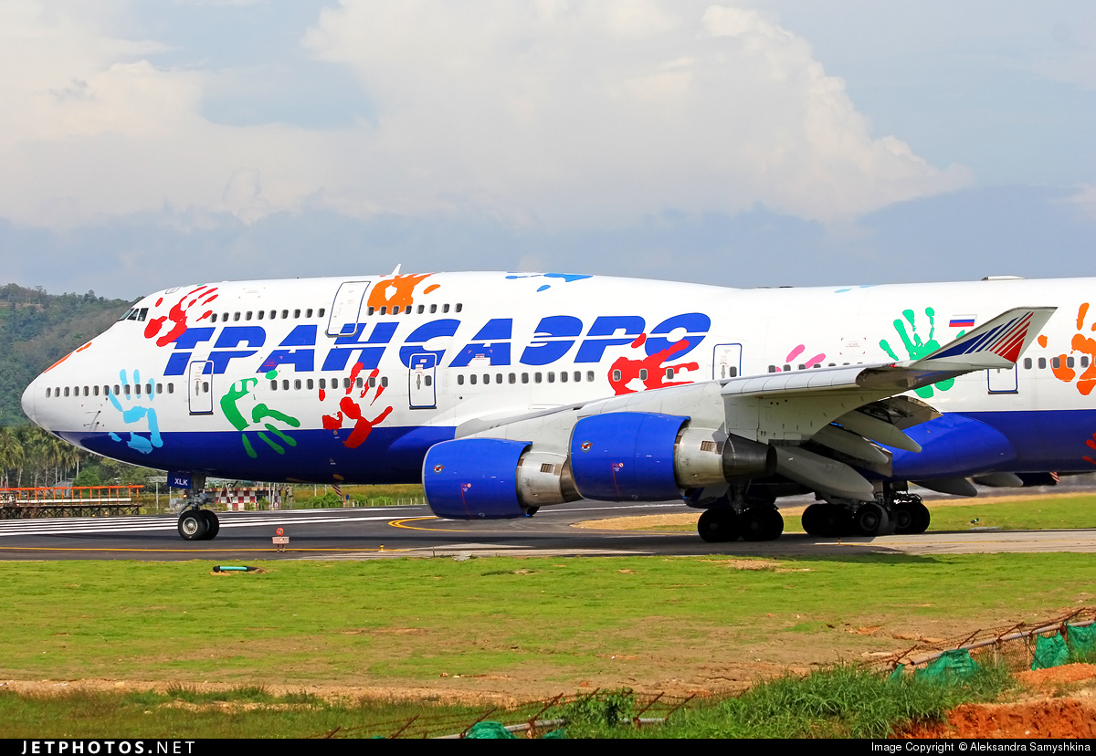 EI-XLK - Boeing 747-412 - Transaero Airlines