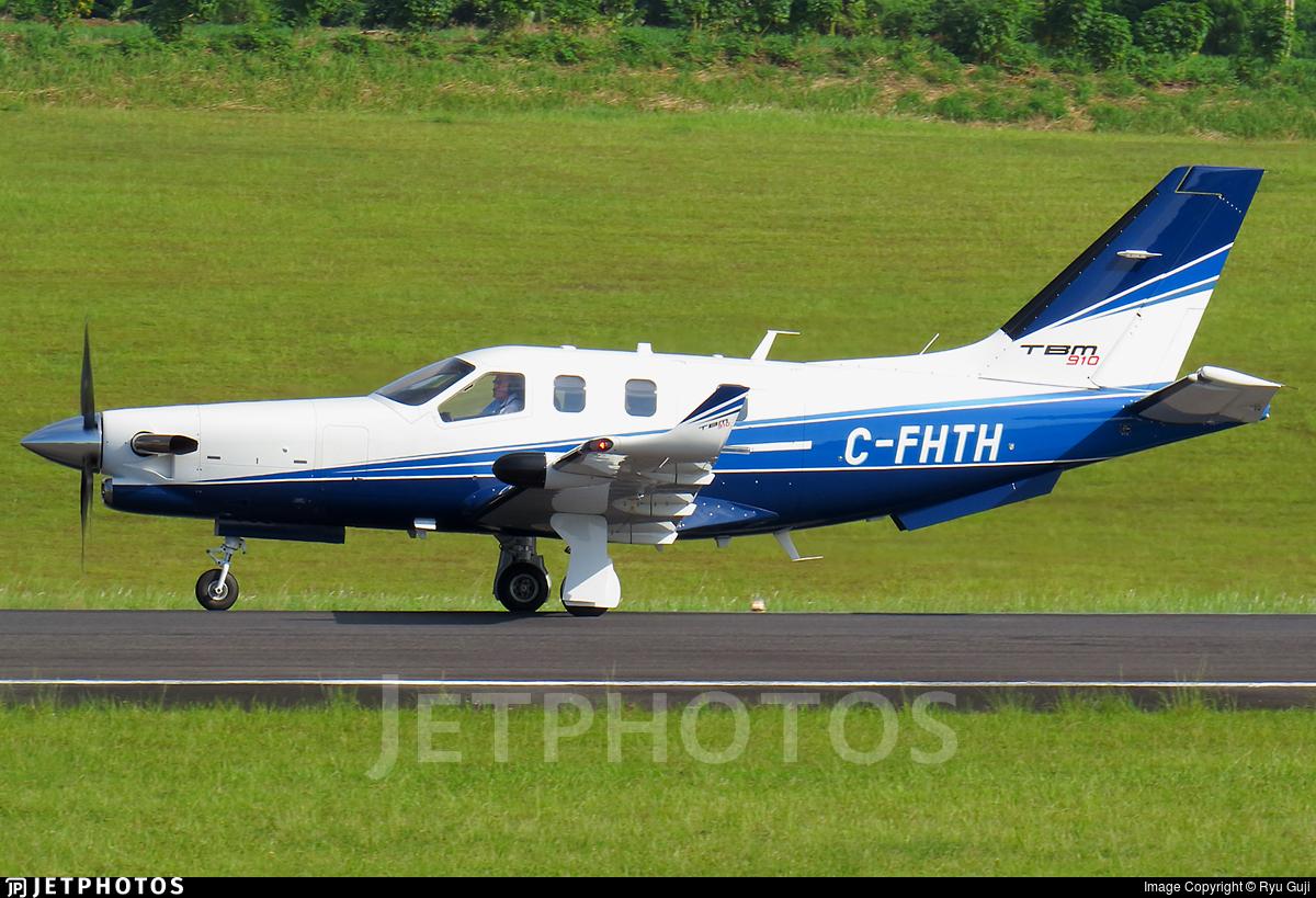 C-FHTH - Socata TBM-910 - Private