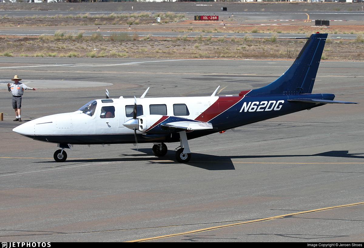 N62DG - Piper PA-60 602P Aerostar  - Private