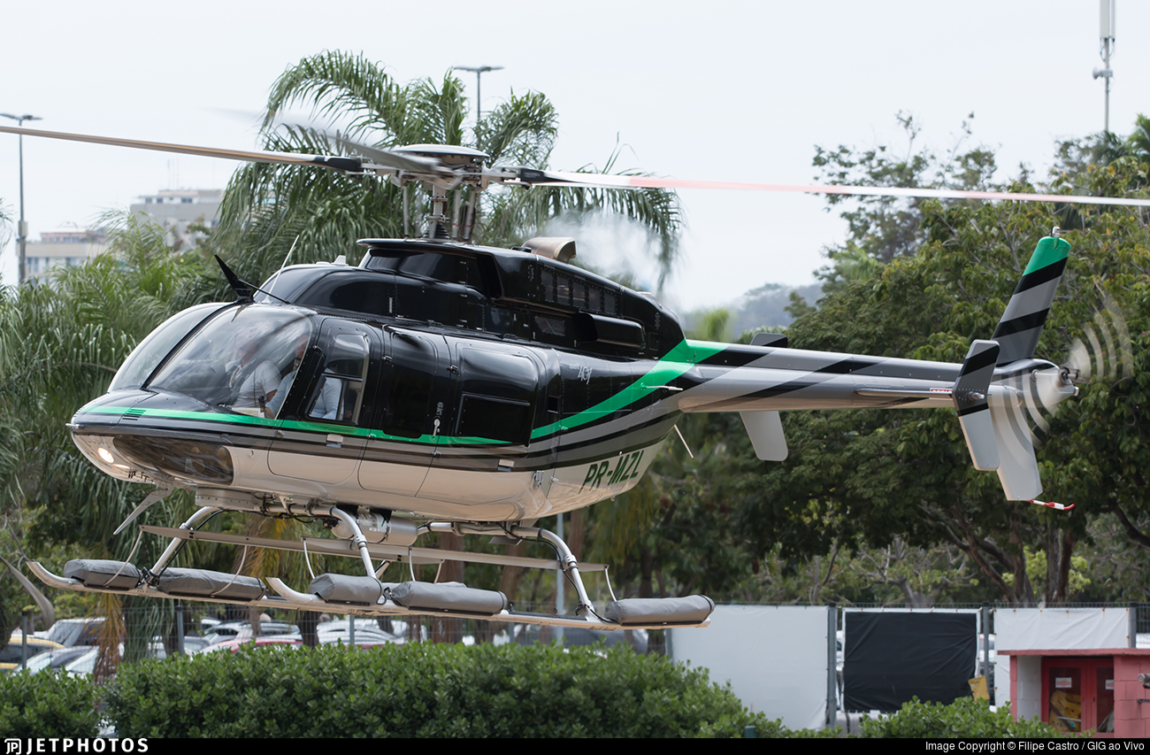 PR-MZL - Bell 407 - Private