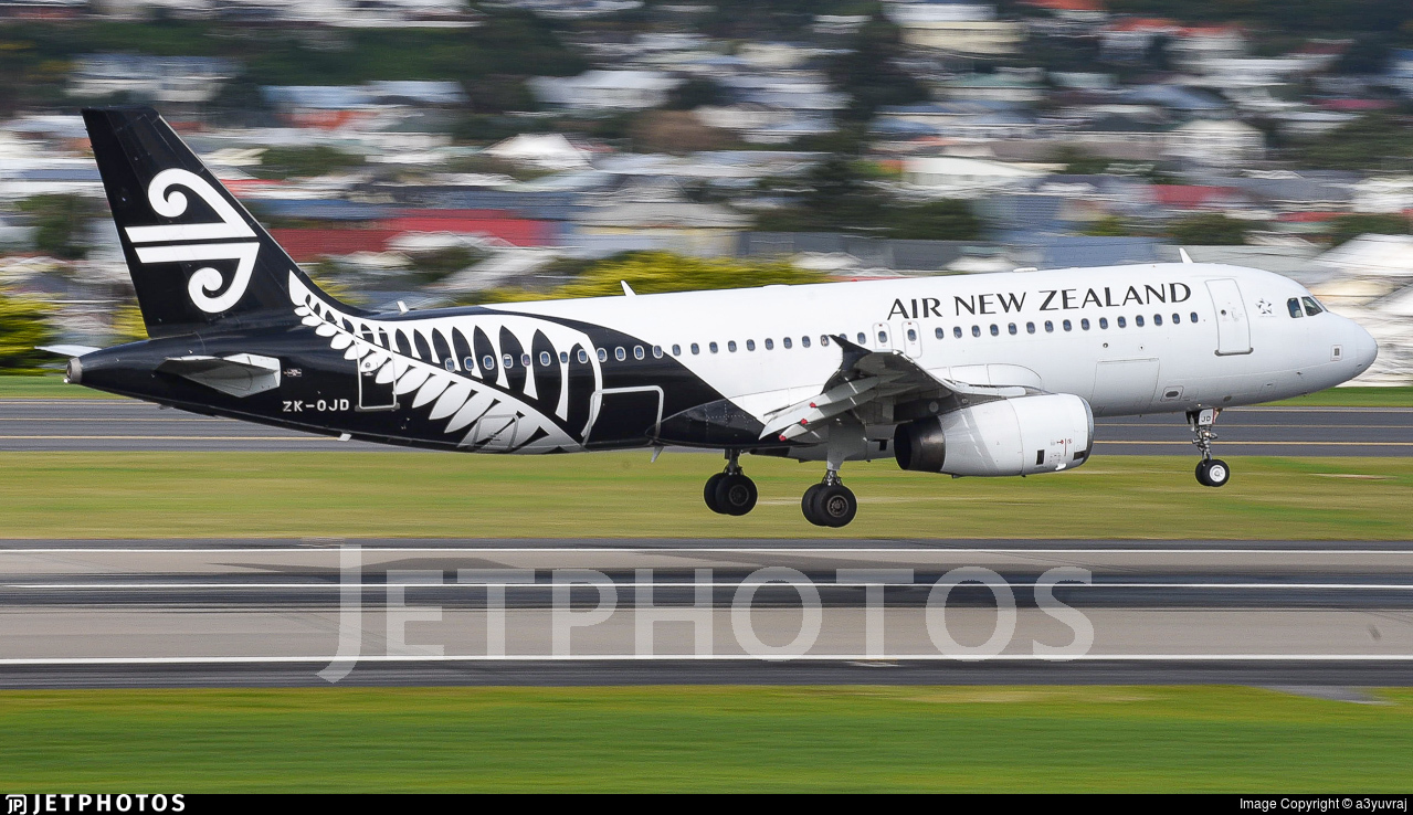 ZK-OJD - Airbus A320-232 - Air New Zealand