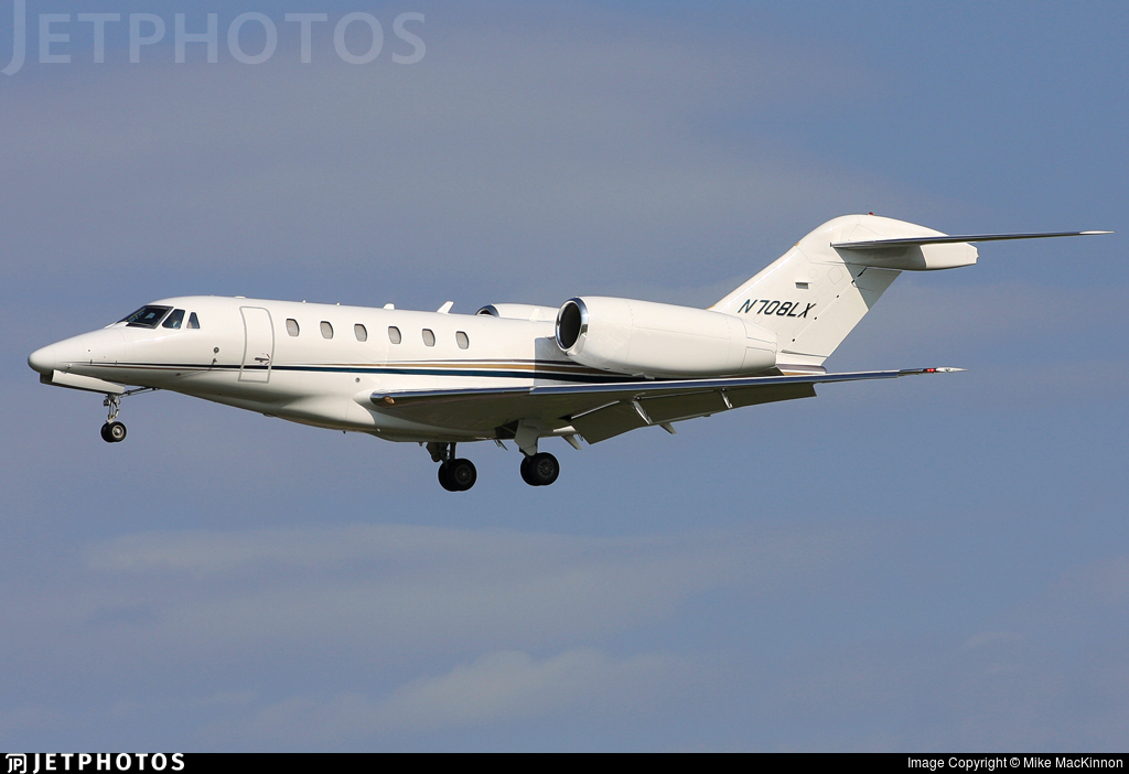 N708LX - Cessna 750 Citation X - Flight Options