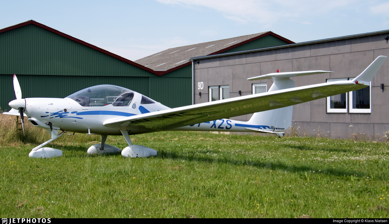 OY-XZS - Diamond Aircraft HK36 Super Dimona - Private