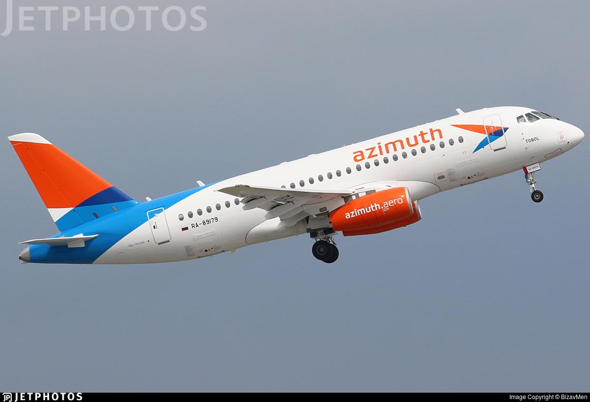 RA-89179 - Sukhoi Superjet 100-95B - Azimuth Airlines