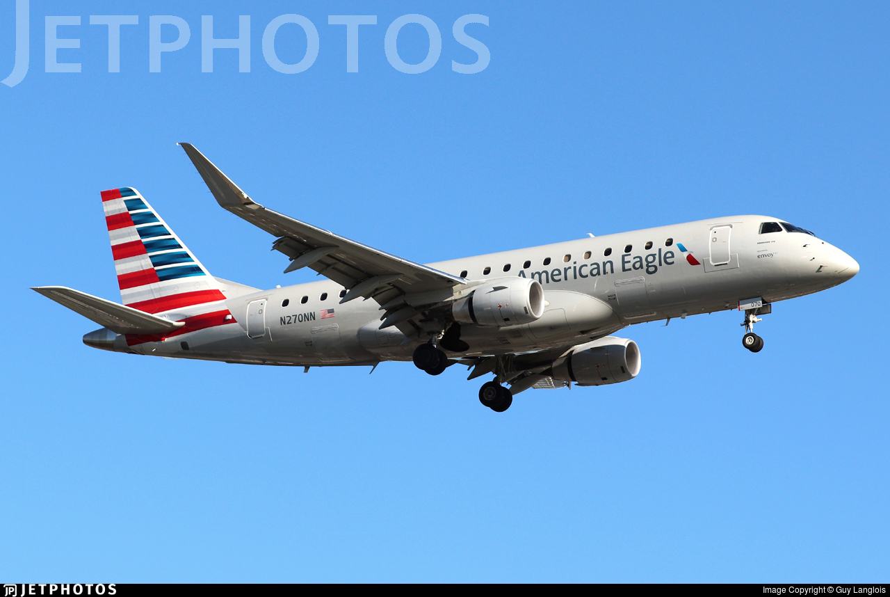 N270NN - Embraer 170-200LR - American Eagle (Envoy Air)
