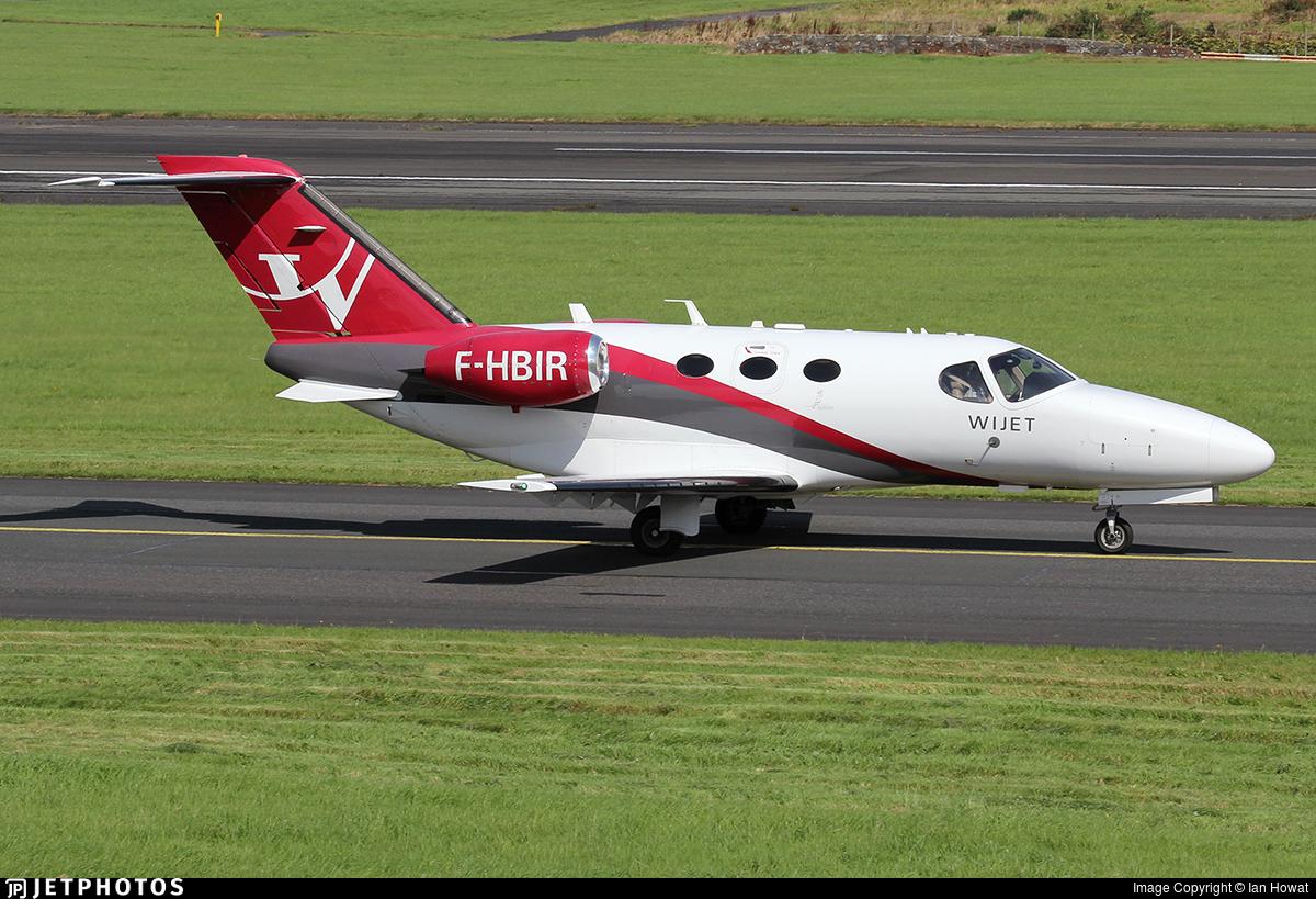 F-HBIR - Cessna 510 Citation Mustang - Wijet
