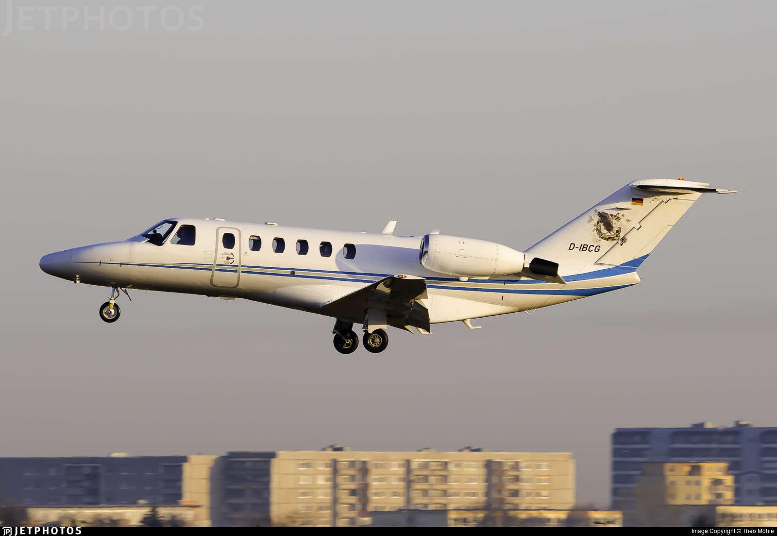 D-IBCG - Cessna 525A CitationJet CJ2 - ProAir Aviation