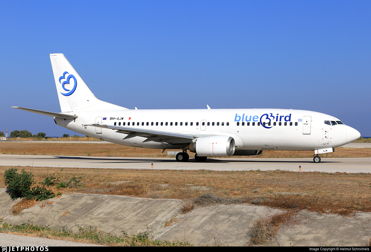 9H-AJW - Boeing 737-3U3 - Bluebird Airways