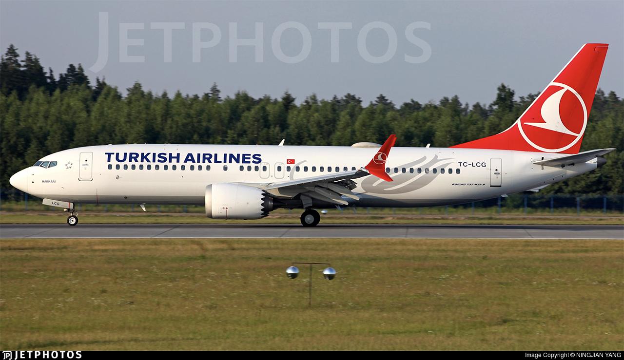 TC-LCG - Boeing 737-8 MAX - Turkish Airlines
