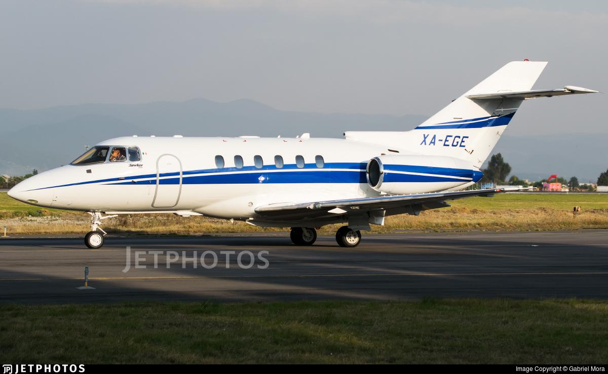 XA-EGE - Hawker Beechcraft 750 - Private