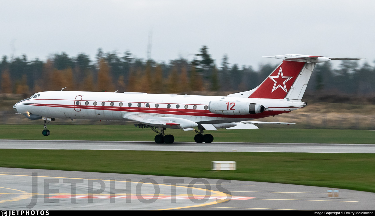 12 - Tupolev Tu-134Sh - Russia - Air Force