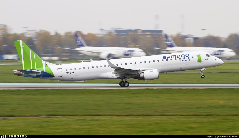 SP-LNI - Embraer 190-200IGW - Bamboo Airways