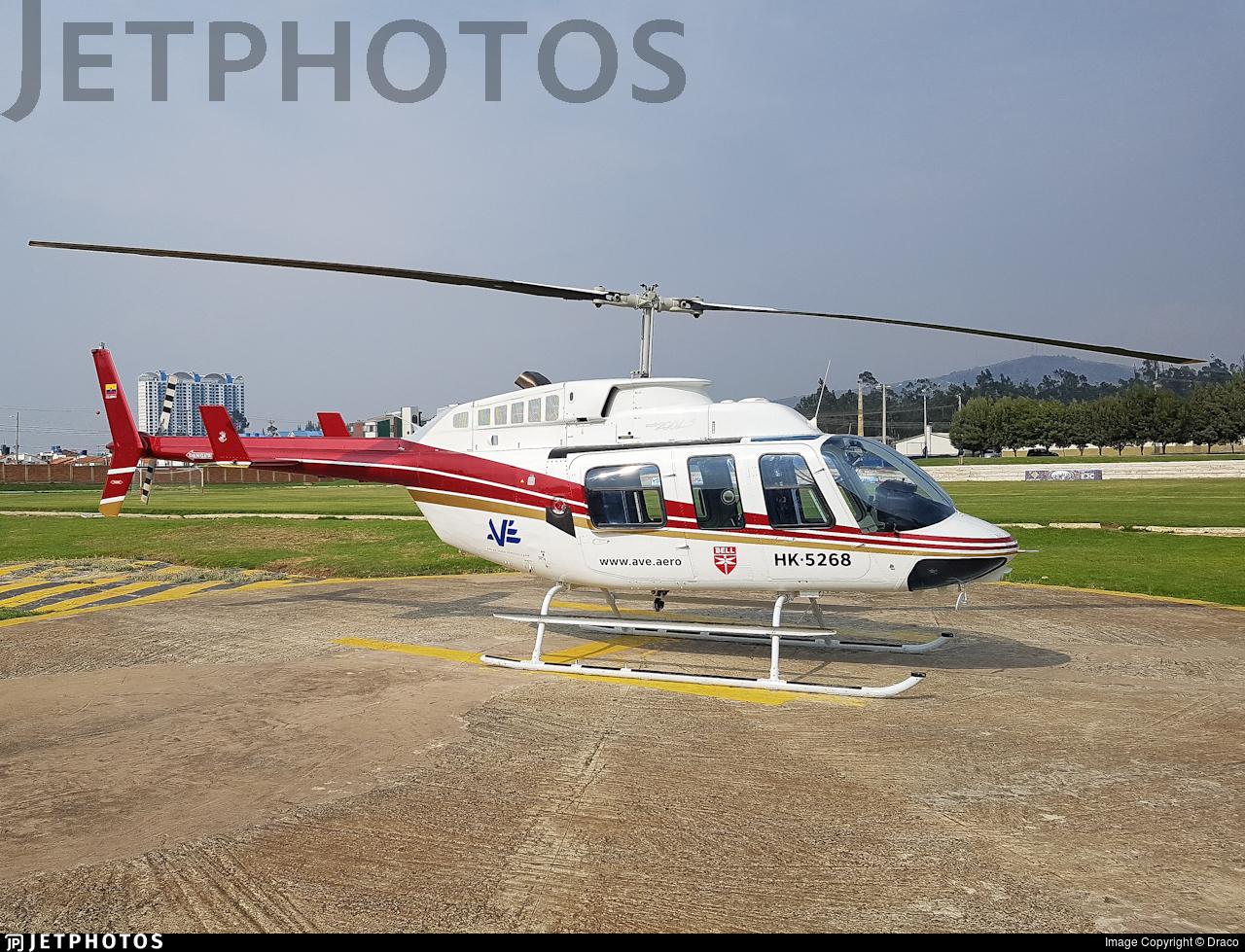 HK-5268 - Bell 206L-3 LongRanger III - AVE (Aviación Especializada)