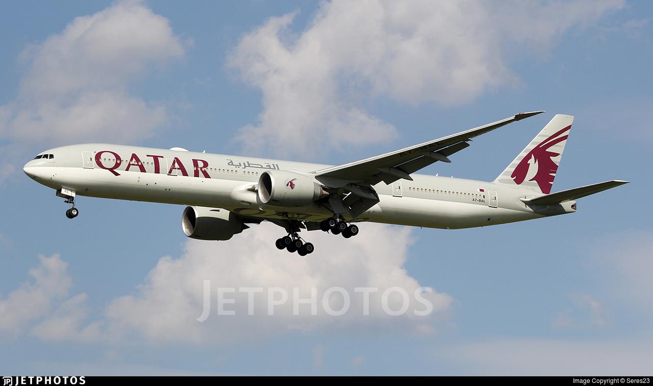 A7-BAL - Boeing 777-3DZER - Qatar Airways