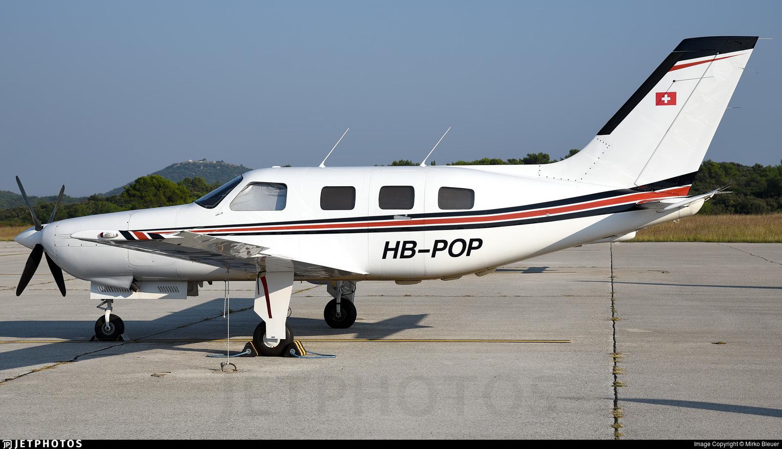HB-POP - Piper PA-46-350P Malibu Mirage - Private