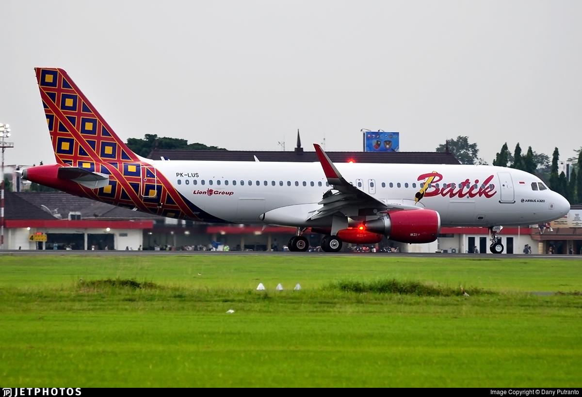 PK-LUS | Airbus A320-214 | Batik Air | JetPhotos