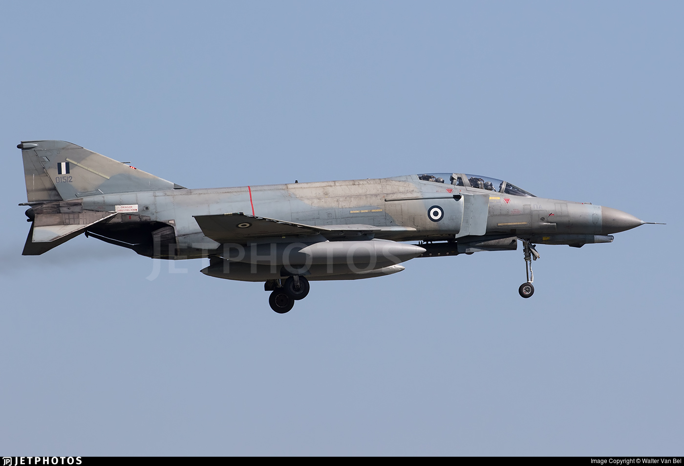 01512 - McDonnell Douglas F-4E Phantom II - Greece - Air Force