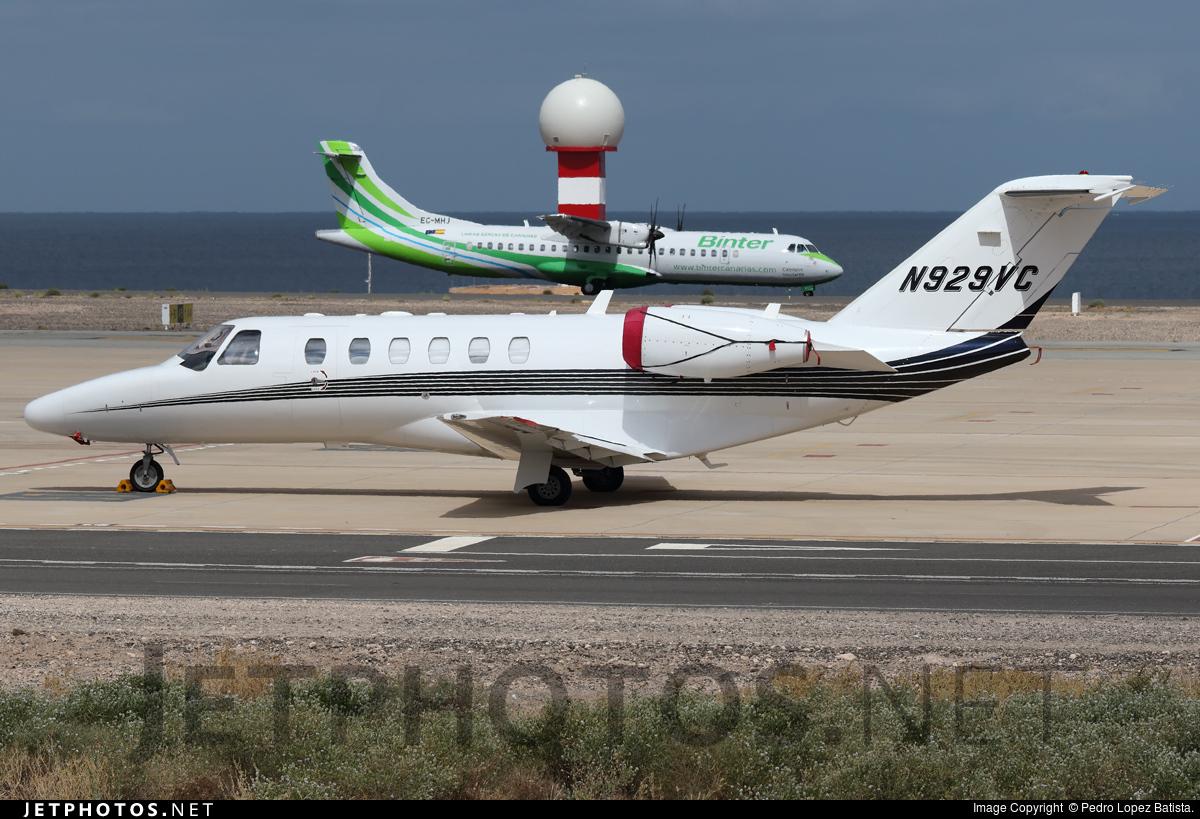 N929VC - Cessna 525A CitationJet 2 - Private